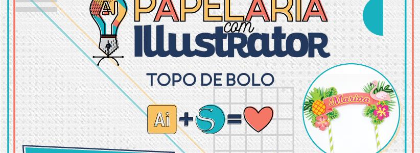 Pré-venda do meu curso de Papelaria com Illustrator